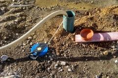 Čistenie novej studne a čerpacia skúška